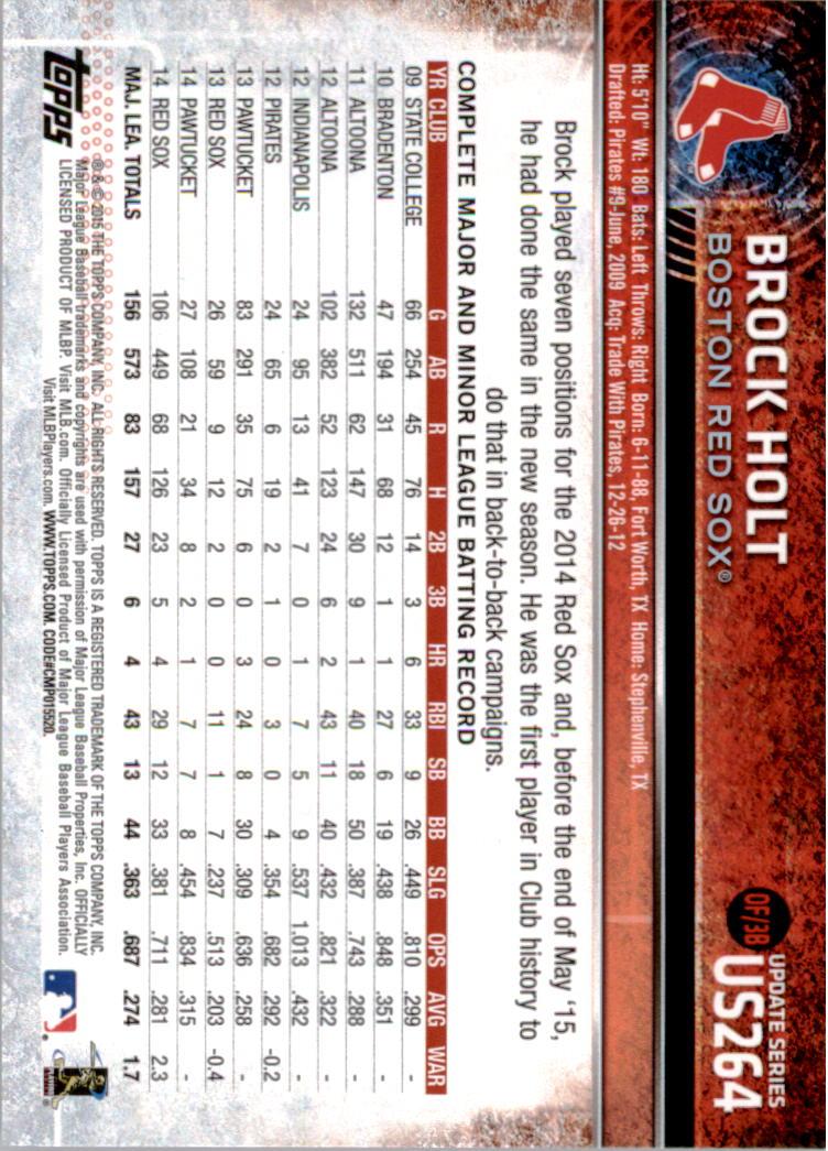 2015-Topps-Actualizacion-Beisbol-Tarjeta-Recoger-238-400 miniatura 45