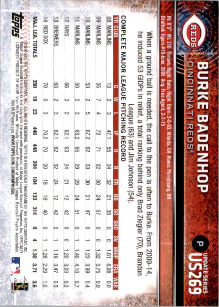 2015-Topps-Actualizacion-Beisbol-Tarjeta-Recoger-238-400 miniatura 55