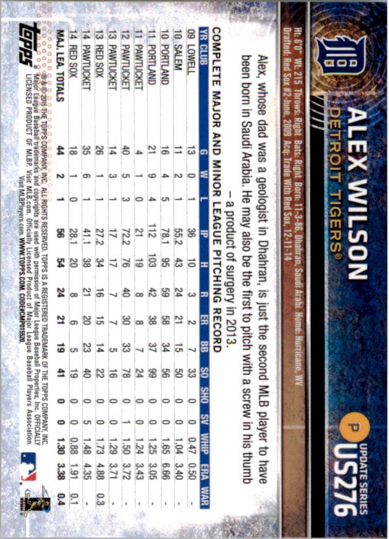2015-Topps-Actualizacion-Beisbol-Tarjeta-Recoger-238-400 miniatura 67