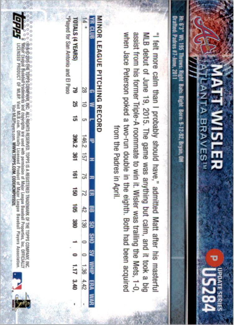 2015-Topps-Actualizacion-Beisbol-Tarjeta-Recoger-238-400 miniatura 80
