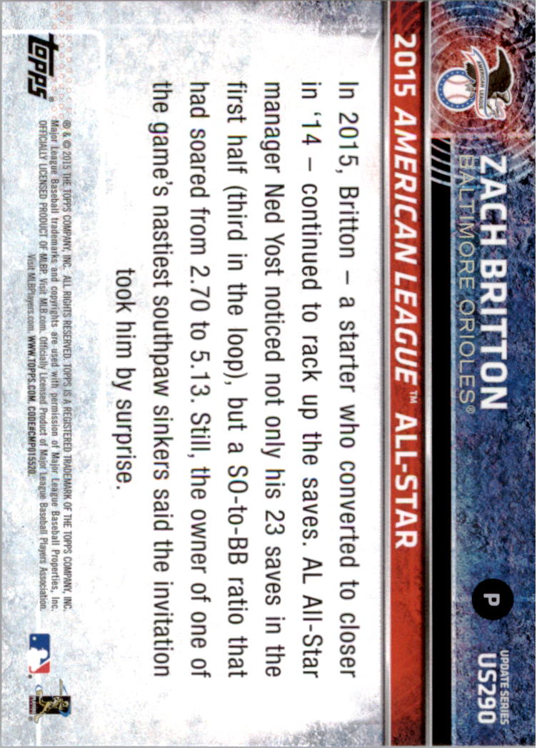 2015-Topps-Actualizacion-Beisbol-Tarjeta-Recoger-238-400 miniatura 90