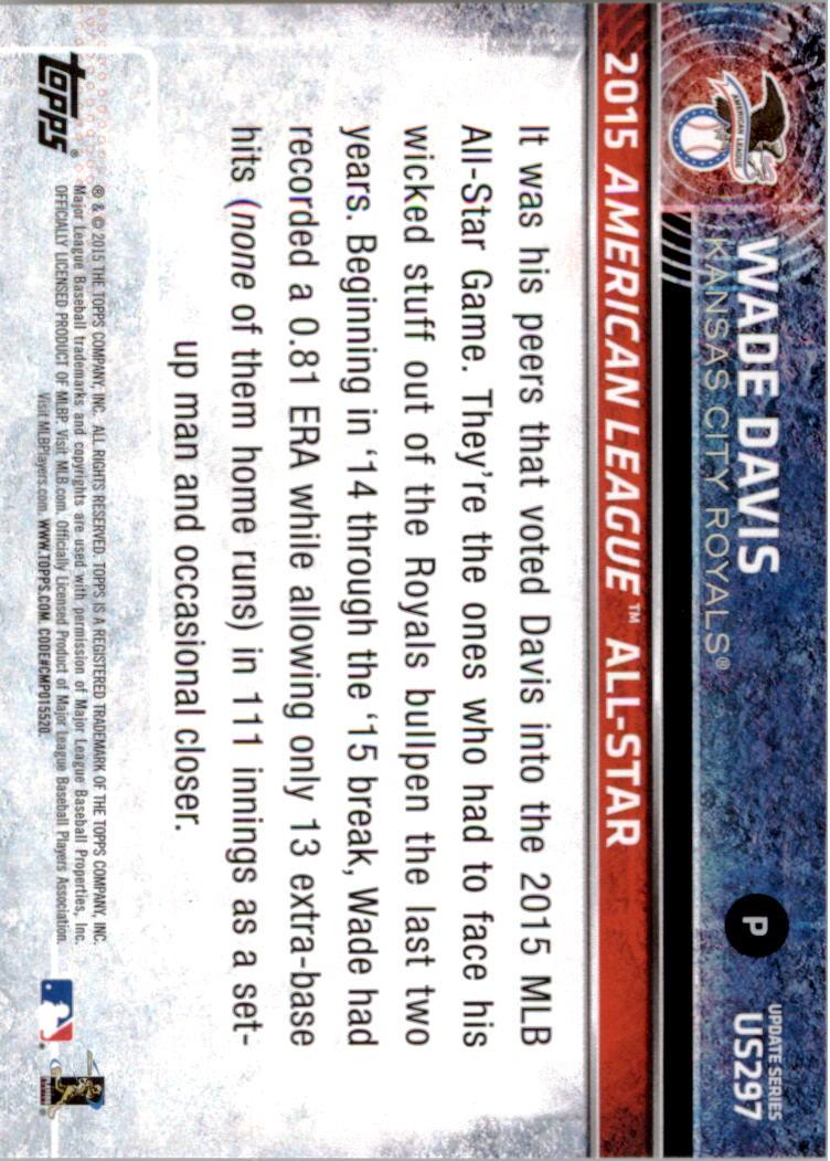 2015-Topps-Actualizacion-Beisbol-Tarjeta-Recoger-238-400 miniatura 101