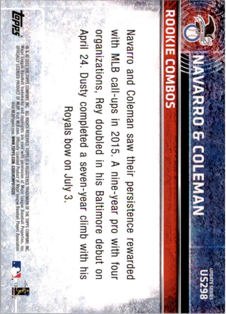 2015-Topps-Actualizacion-Beisbol-Tarjeta-Recoger-238-400 miniatura 103