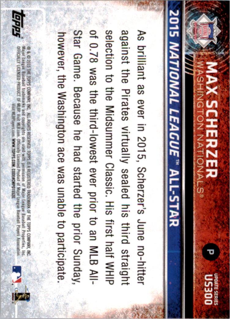2015-Topps-Actualizacion-Beisbol-Tarjeta-Recoger-238-400 miniatura 107