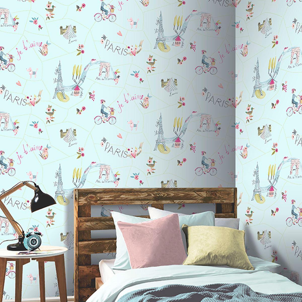 girls wallpaper themed bedroom unicorn stars heart glitter chic girls wallpaper themed bedroom unicorn stars heart glitter