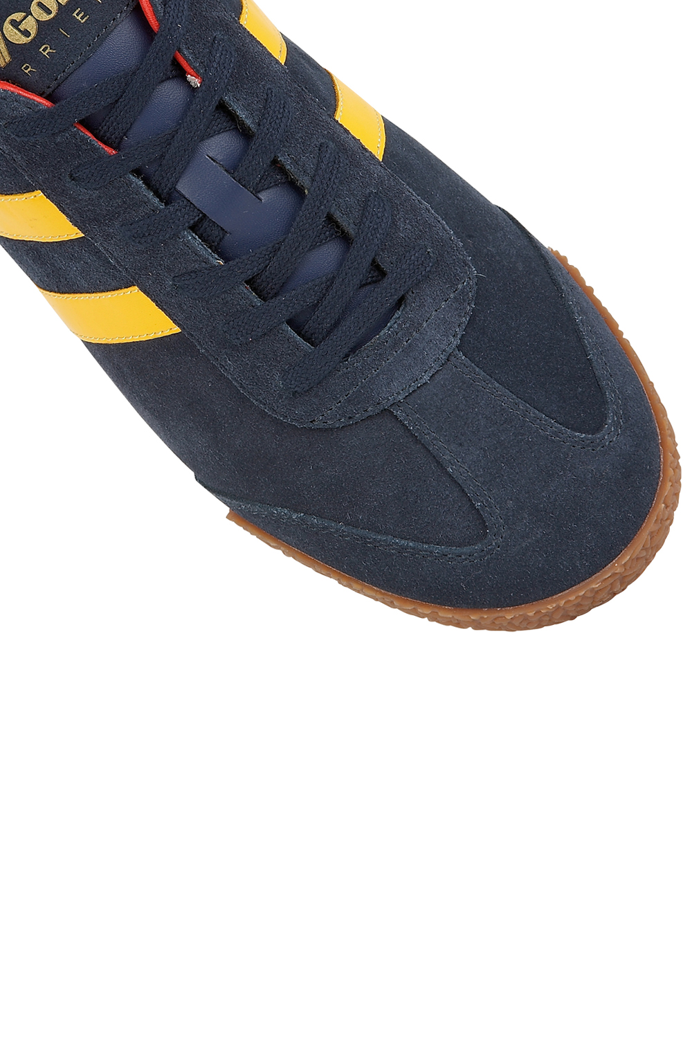 thumbnail 12 - Gola Harrier Suede Classic Vintage Lace-Up Sneakers Mens Trainers Low Top Shoes