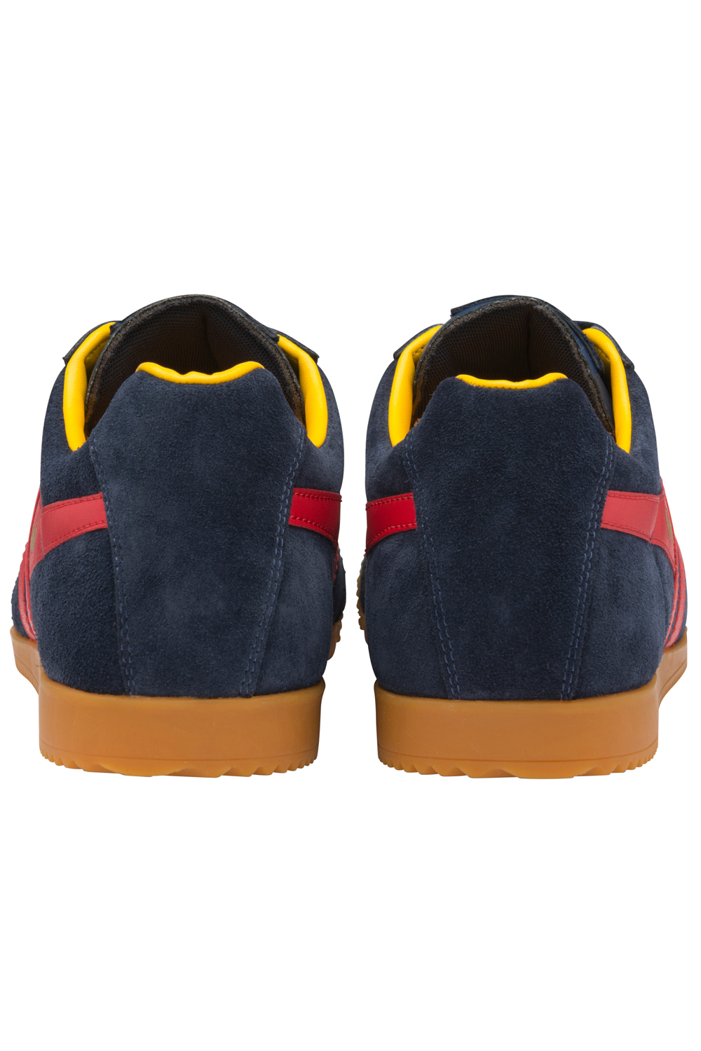 thumbnail 23 - Gola Harrier Suede Classic Vintage Lace-Up Sneakers Mens Trainers Low Top Shoes