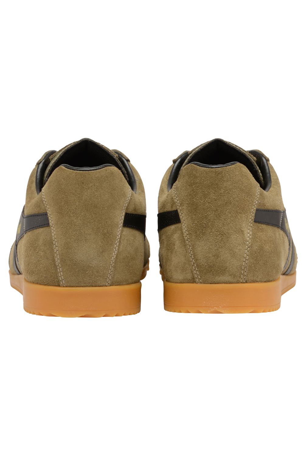 thumbnail 10 - Gola Harrier Suede Classic Vintage Lace-Up Sneakers Mens Trainers Low Top Shoes