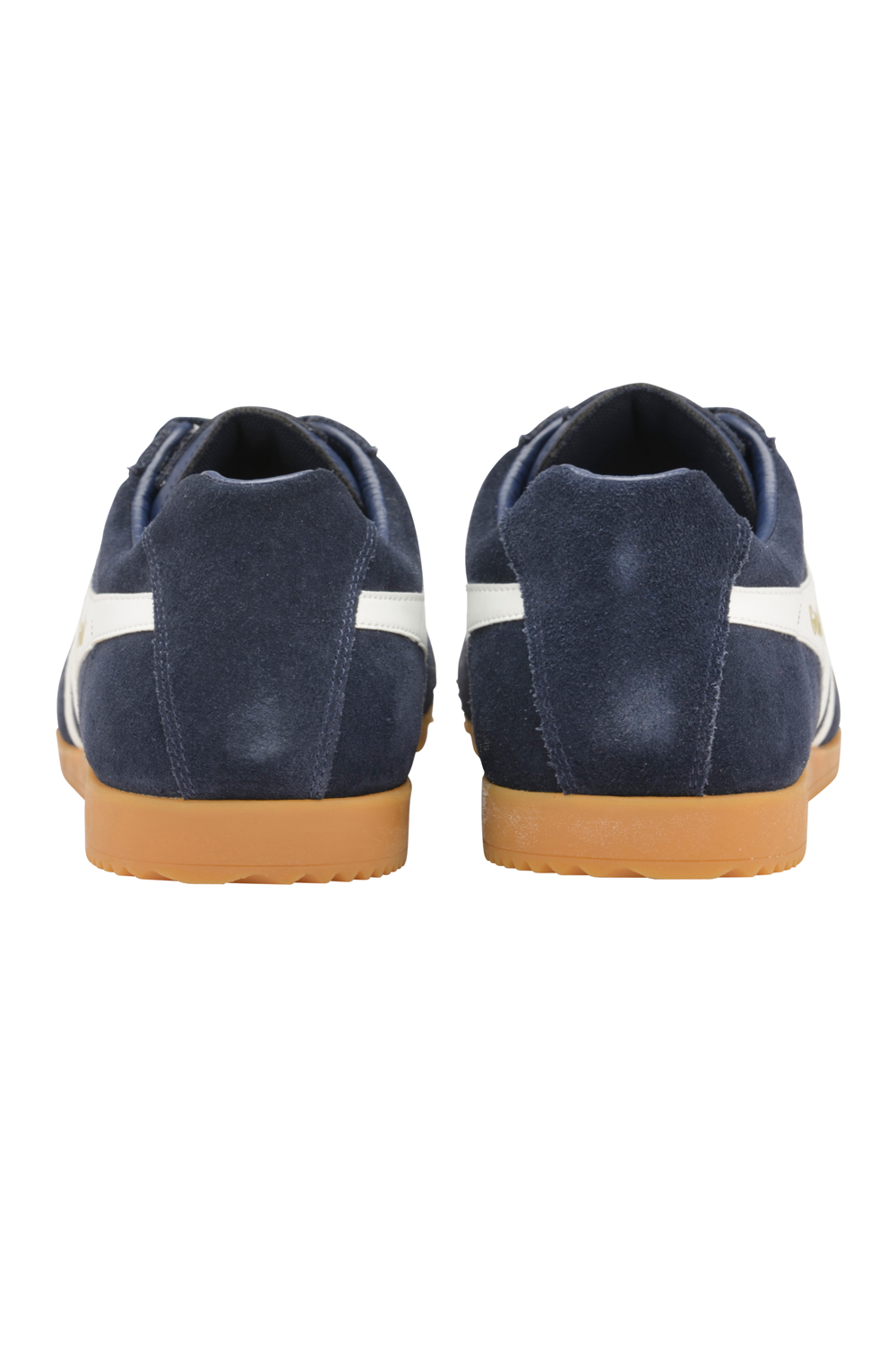 thumbnail 5 - Gola Harrier Suede Classic Vintage Lace-Up Sneakers Mens Trainers Low Top Shoes
