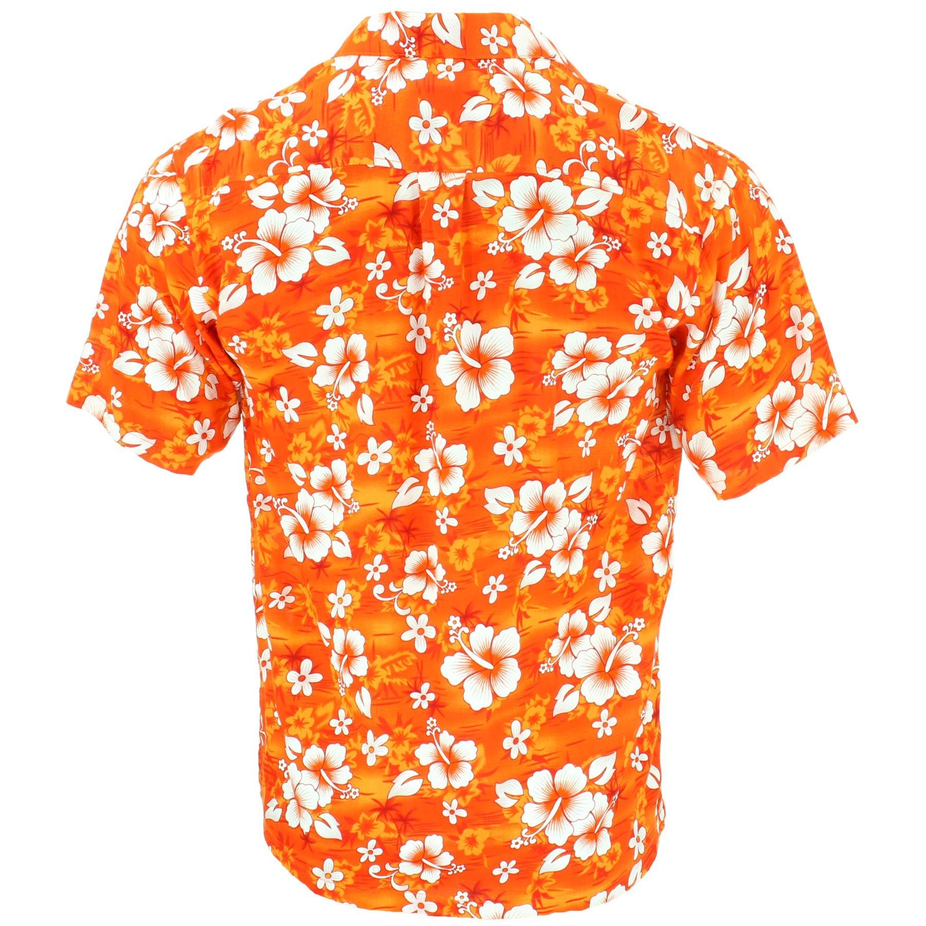 Short Sleeve Hawaiian Shirt Pidoza Hawaii Beach Aloha Stag Summer