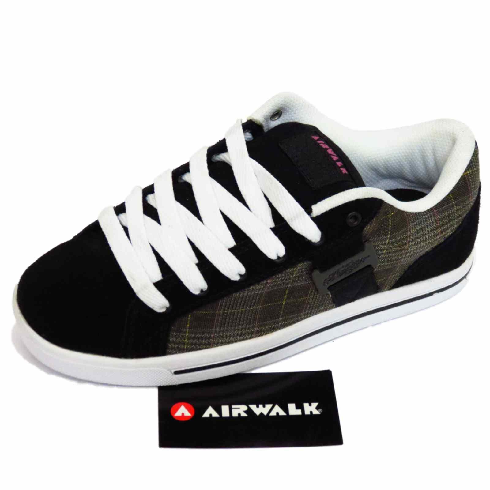 Airwalk Black Leather Shoes