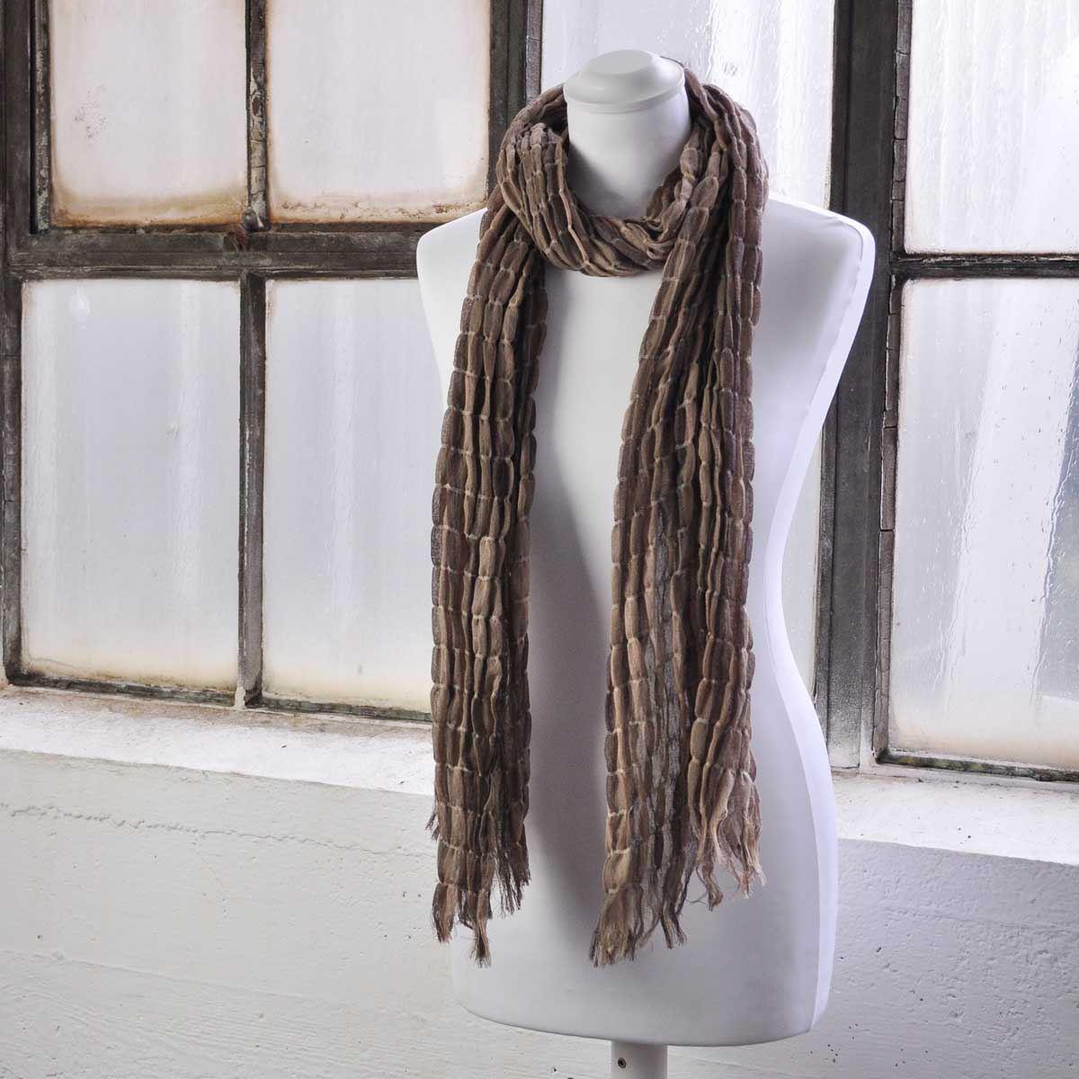 donna-bellissimo-CALDO-INVERNO-BOLLE-elasticizzato-collo-lungo-Sciarpe