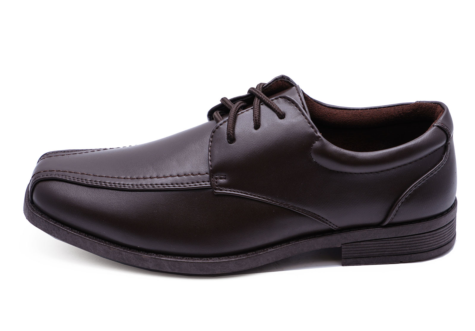 Herren braun zum Schnüren Works Hochzeit lässig elegant Slipper förmliche Schuhe
