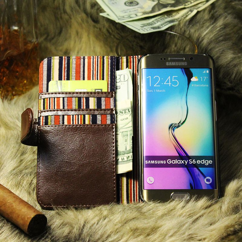 thumbnail 13 - Leather Flip Pouch Wallet Cover Accessories Bag Book