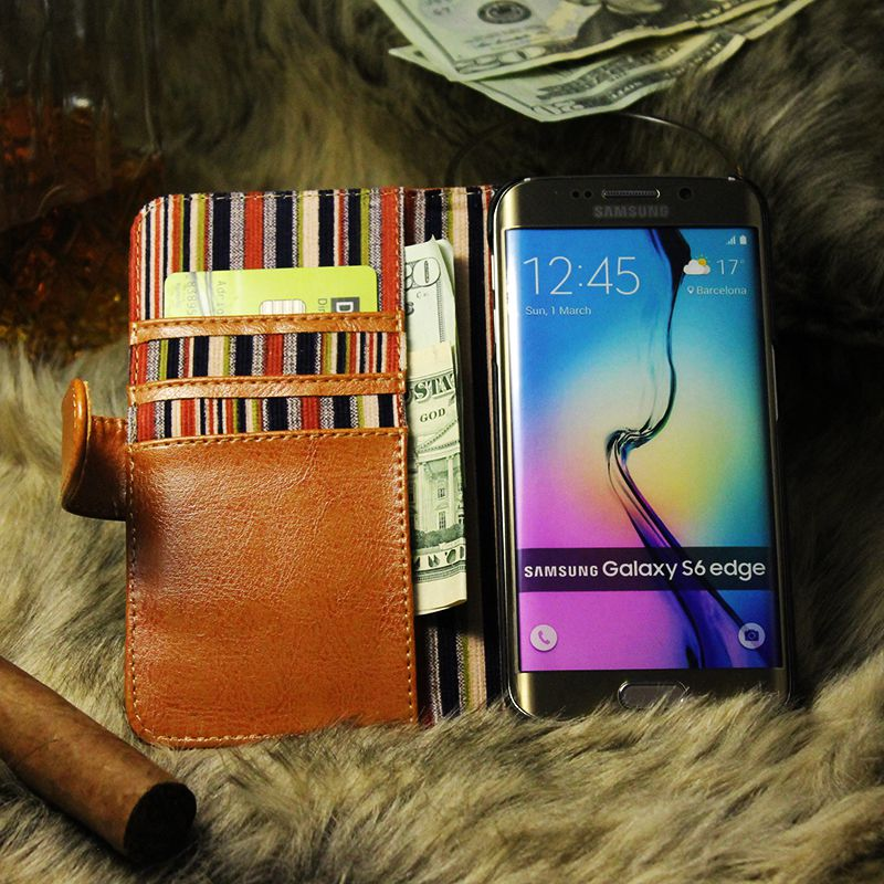 thumbnail 14 - Leather Flip Pouch Wallet Cover Accessories Bag Book