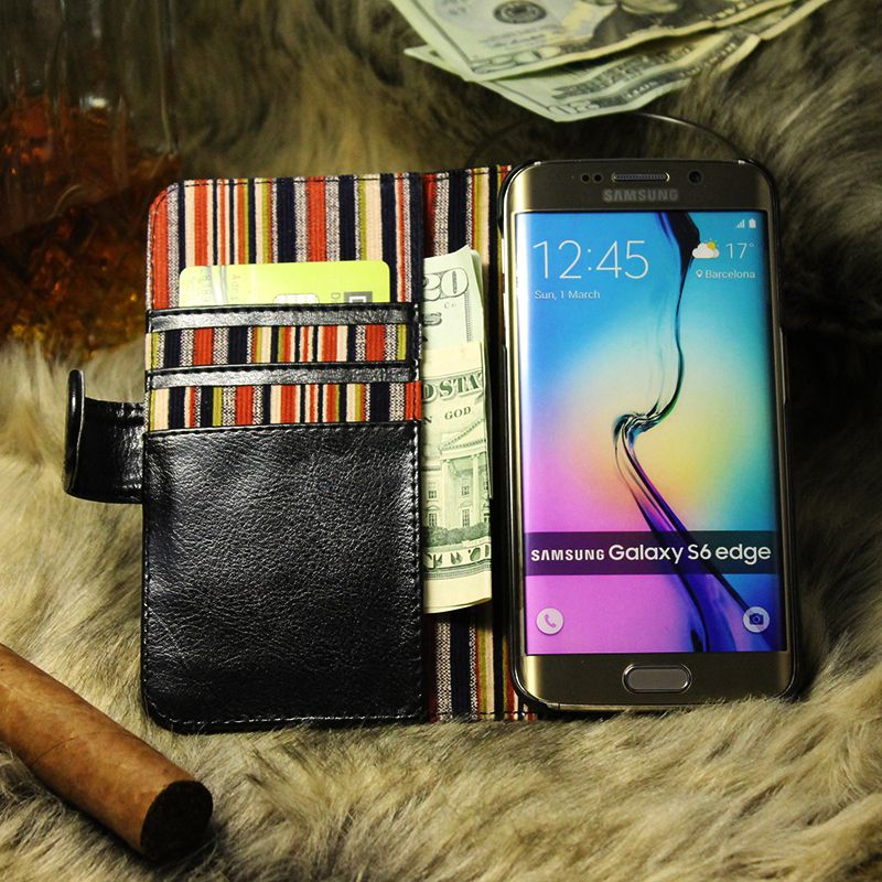 thumbnail 15 - Leather Flip Pouch Wallet Cover Accessories Bag Book