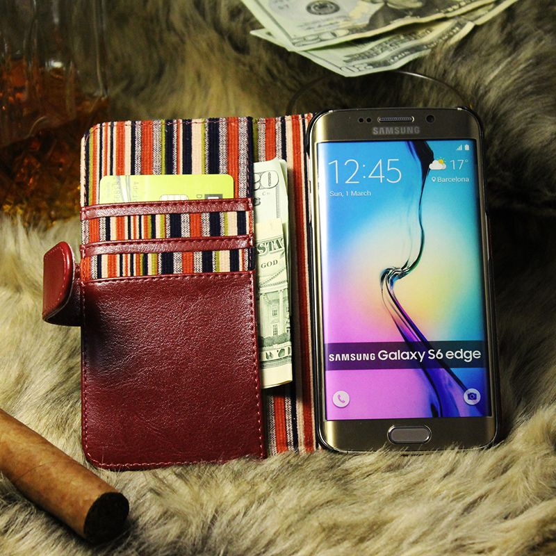 thumbnail 16 - Leather Flip Pouch Wallet Cover Accessories Bag Book