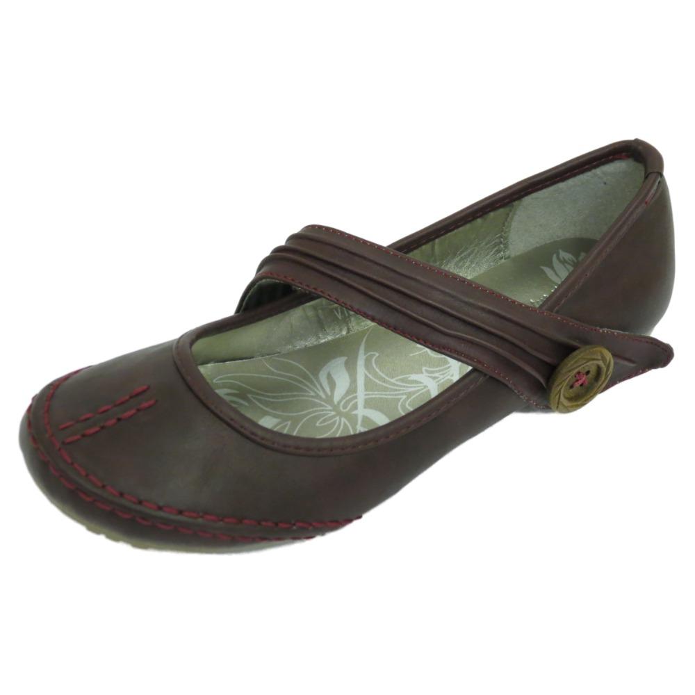 Mujer Plano Burdeos Sin Cordones Cómodo Trabajo Casual Confort Zapatos Tallas