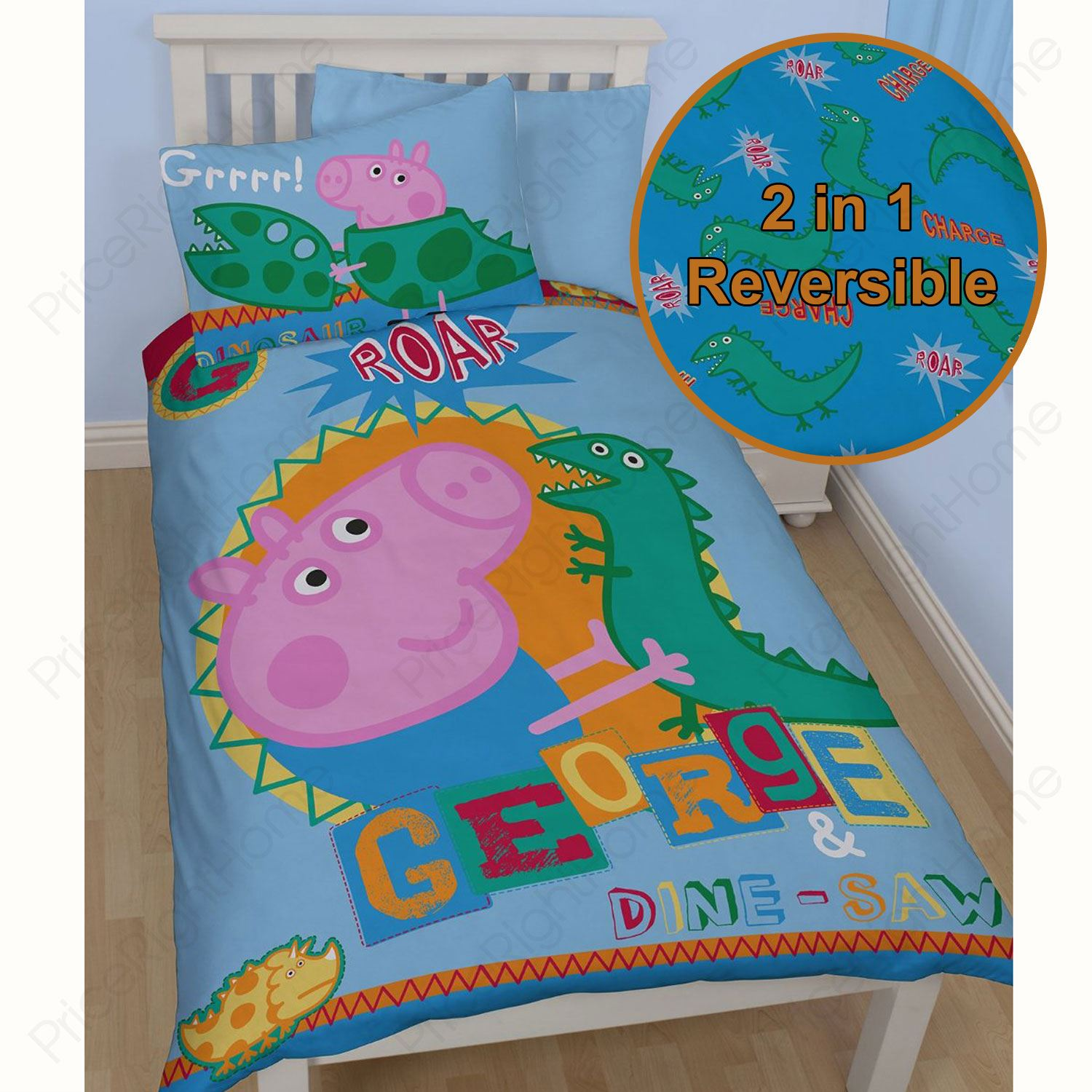 George Pig Bedding Toddler Bed
