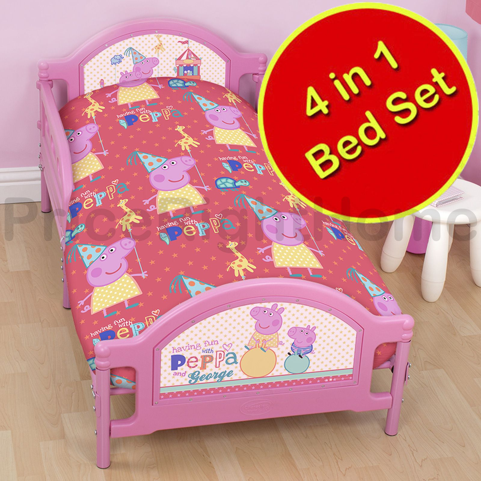 PEPPA PIG Amp GEORGE DUVET QUILT COVERS