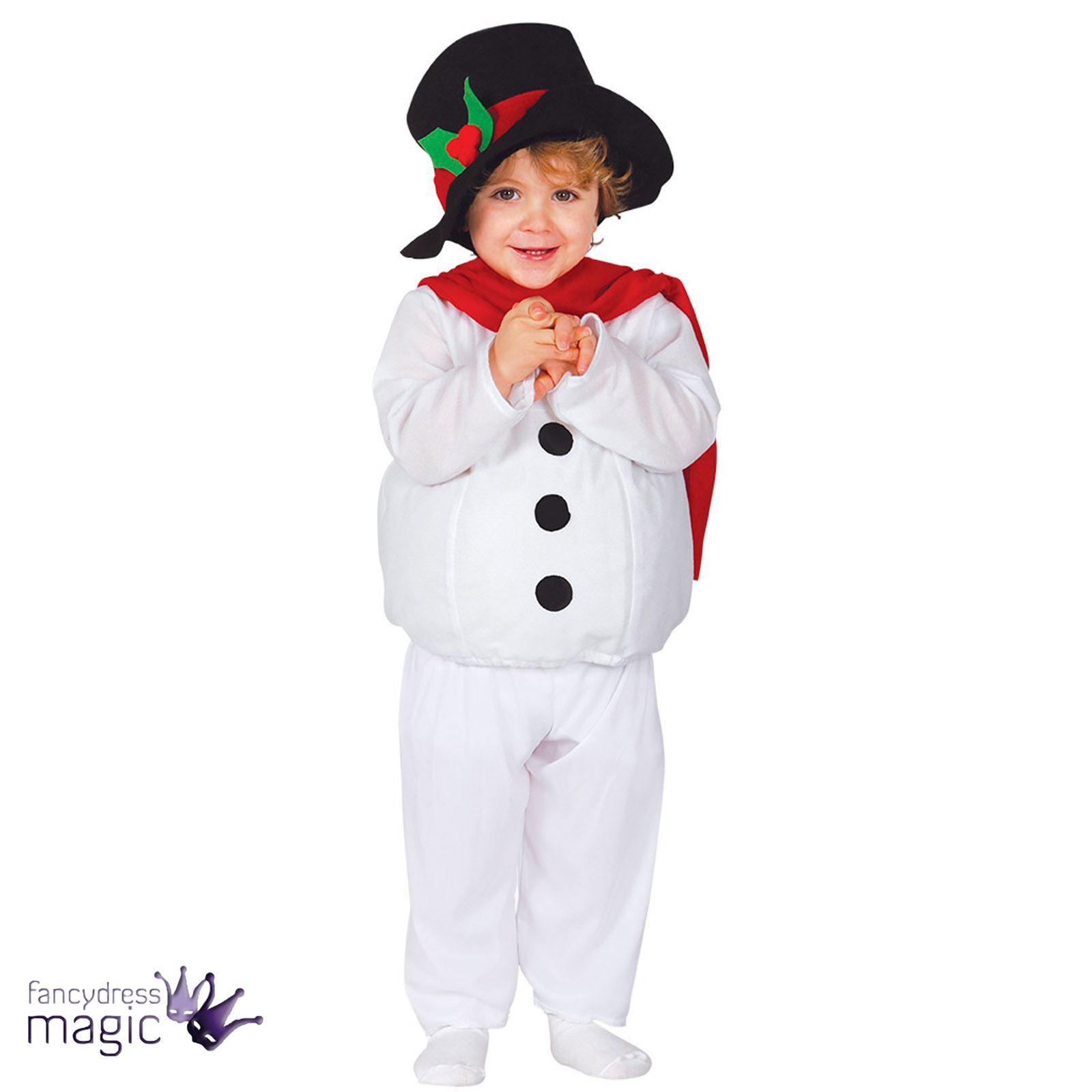 baby kleinkind weihnachten schneemann kost m kleid outfit hut geburt schnee ebay. Black Bedroom Furniture Sets. Home Design Ideas