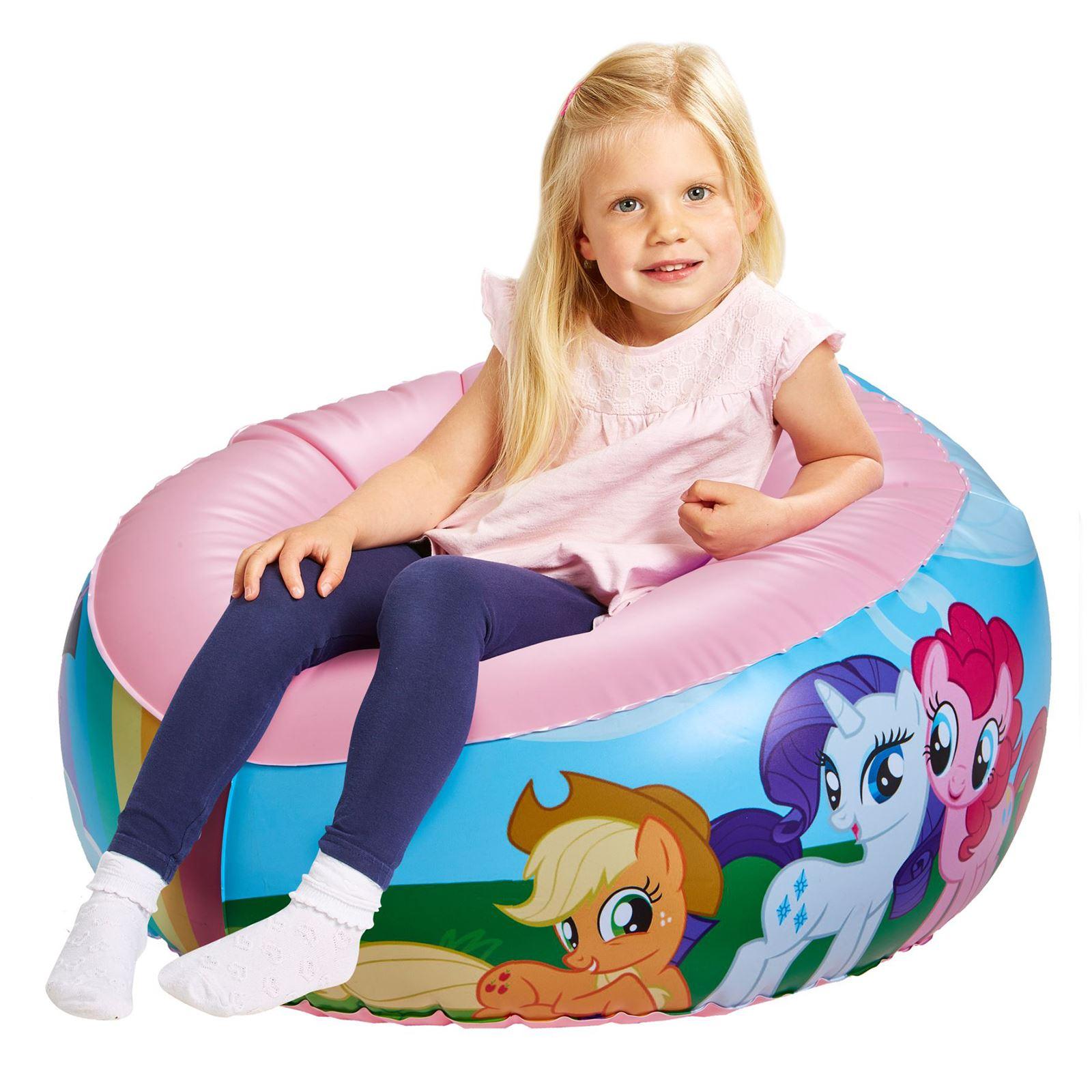 Indexbild 11 - Kinder Aufblasbarer Sessel - PAW PATROL, My LIttle Pony, Star Wars, Toy Story