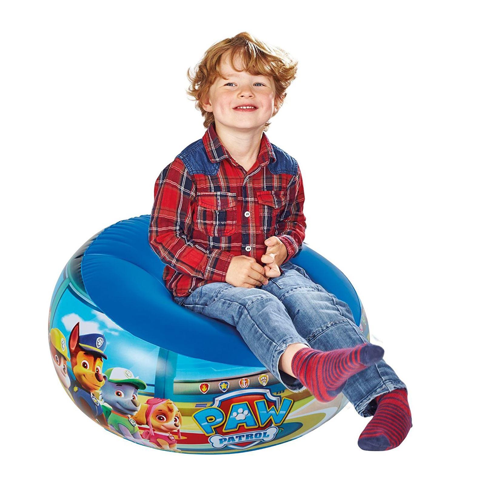 Indexbild 14 - Kinder Aufblasbarer Sessel - PAW PATROL, My LIttle Pony, Star Wars, Toy Story