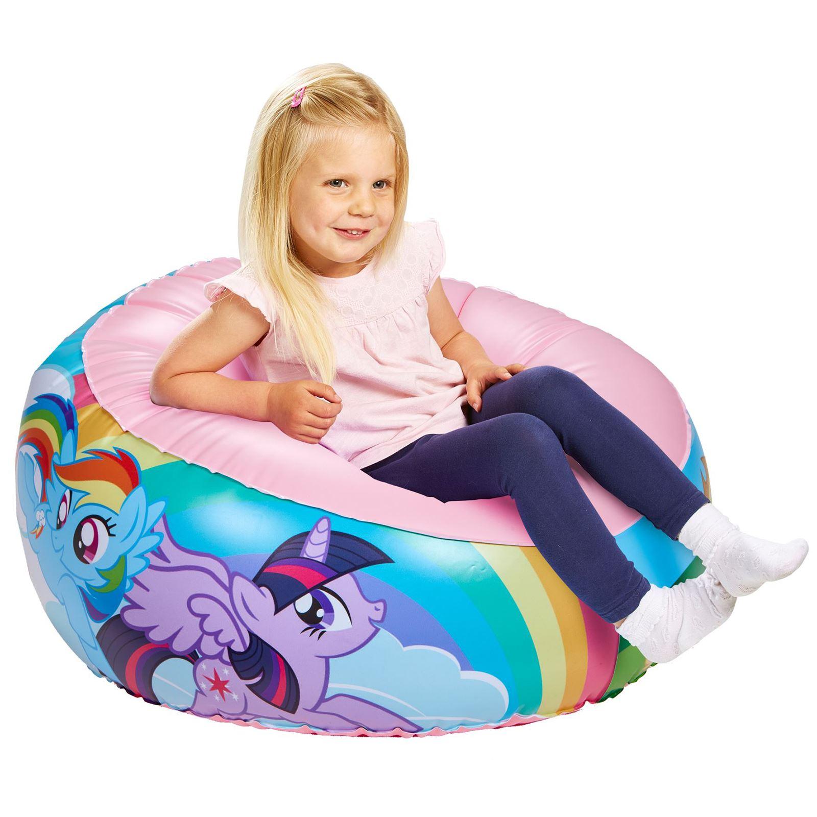 Indexbild 10 - Kinder Aufblasbarer Sessel - PAW PATROL, My LIttle Pony, Star Wars, Toy Story