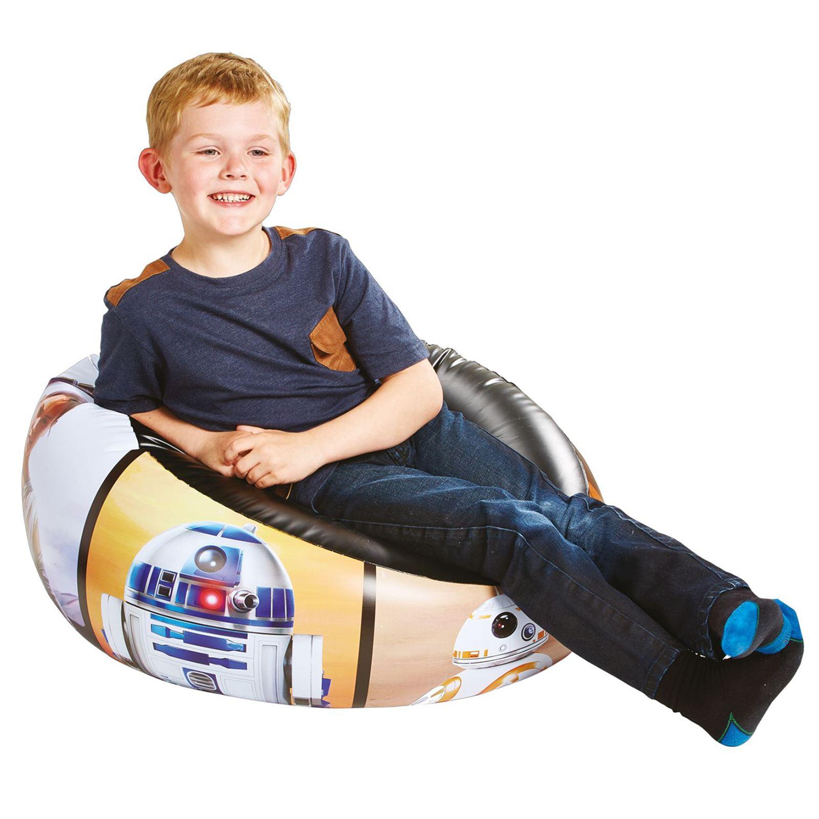 Indexbild 20 - Kinder Aufblasbarer Sessel - PAW PATROL, My LIttle Pony, Star Wars, Toy Story