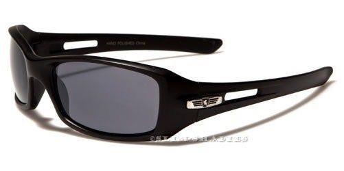 Neue Sonnenbrille schwarz Herren Damen Jungen Designer Sport gewickelt groß 9ZXtnjb