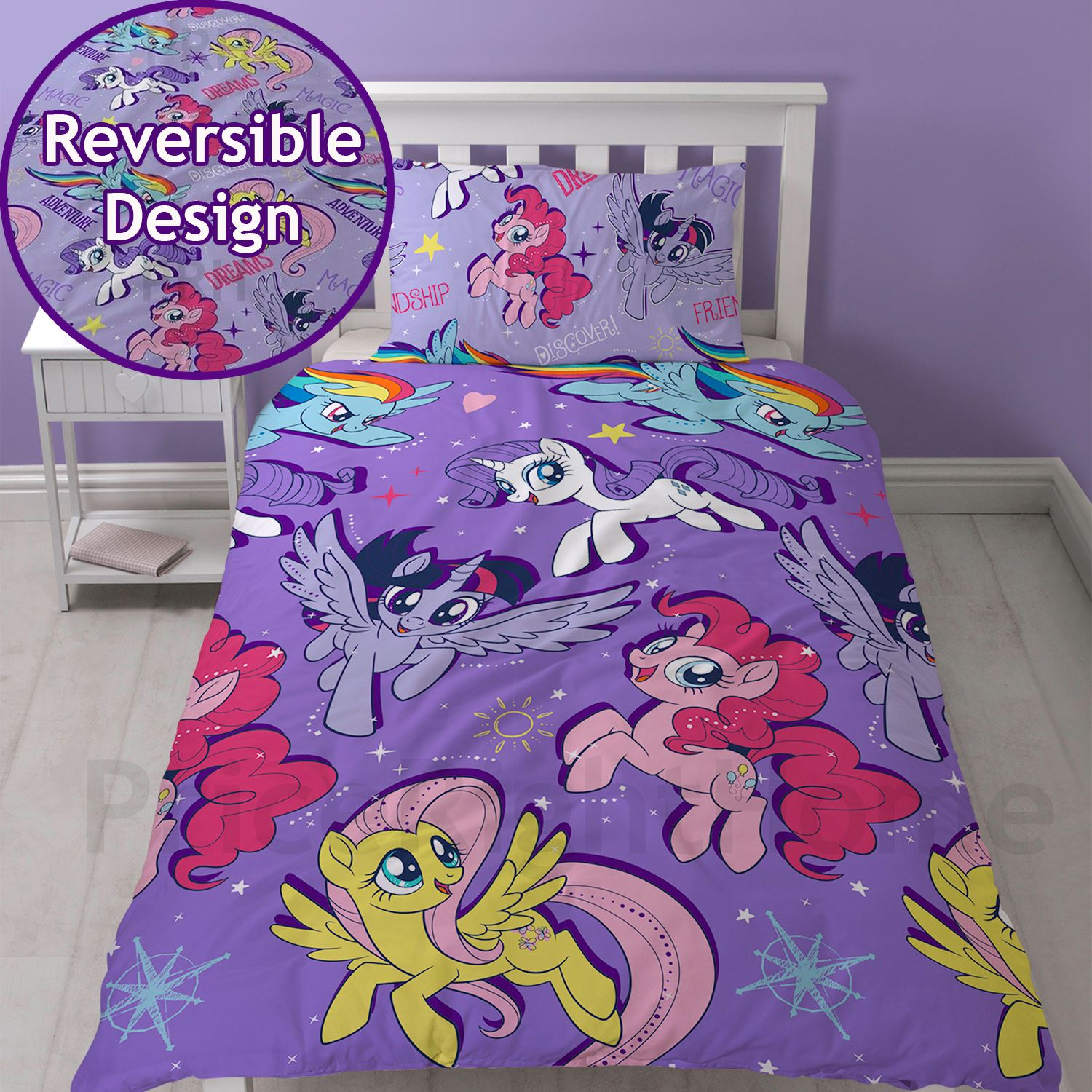 my little pony einzel bettw sche sets m dchen schlafzimmer verschiedene deigns ebay. Black Bedroom Furniture Sets. Home Design Ideas