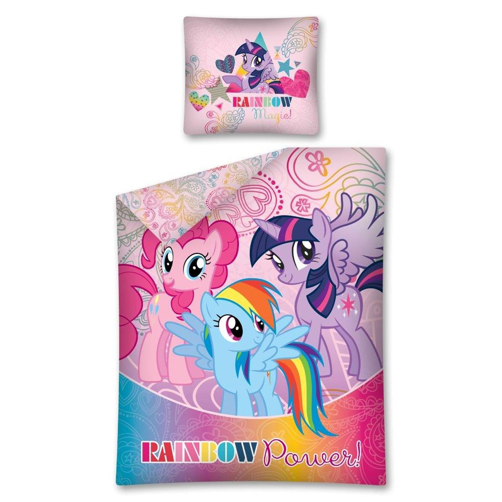 MY LITTLE PONY SINGLE DUVET COVER SETS GIRLS