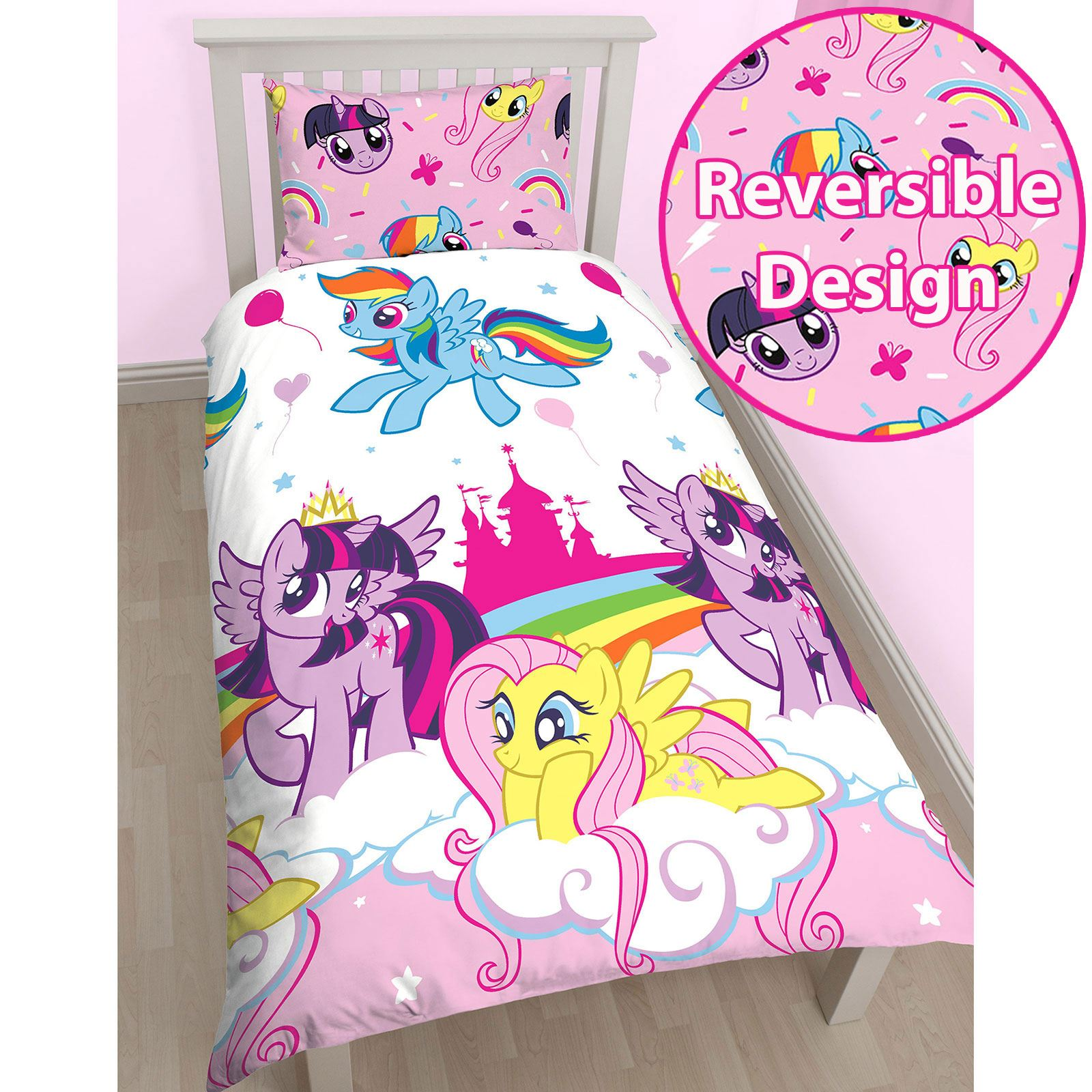 MY LITTLE PONY SINGLE DUVET COVER SETS GIRLS. MY LITTLE PONY SINGLE DUVET COVER SETS GIRLS BEDROOM BEDDING