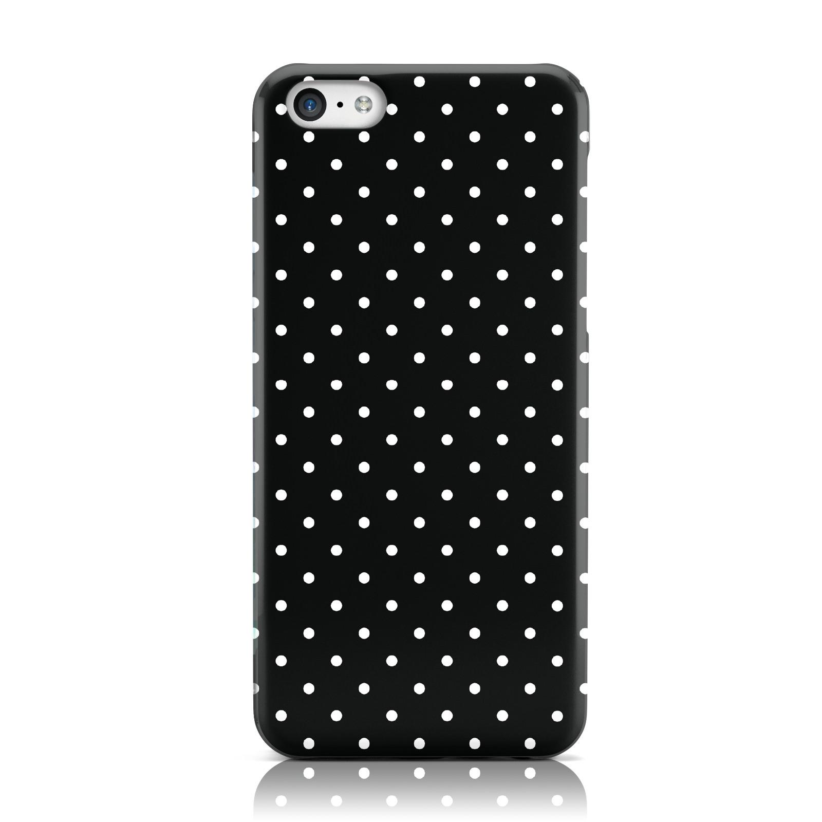 dyefor-Polka-Dot-Coleccion-Rigida-Movil-Funda-De-Telefono-Para-Apple-iPhone-5c