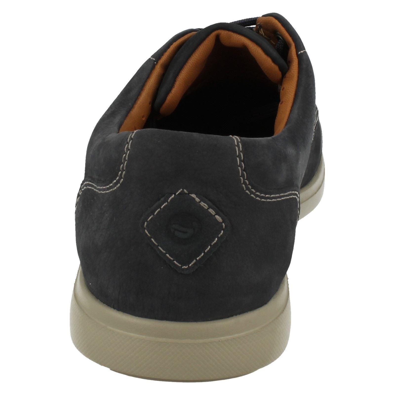 ' Clarks Estructura Con Hombre Edge Casual Zapatos Sin Unlomac Cordones 0cBZZdnqW