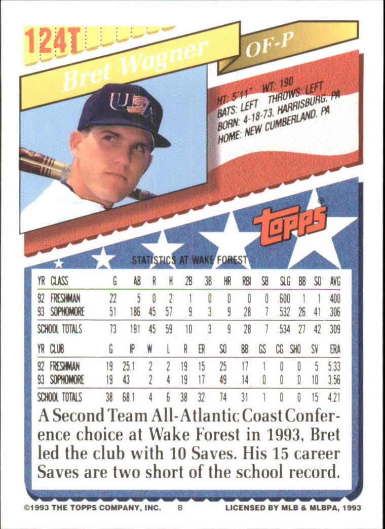1993-Topps-Achete-Baseball-Carte-Choisissez miniature 220