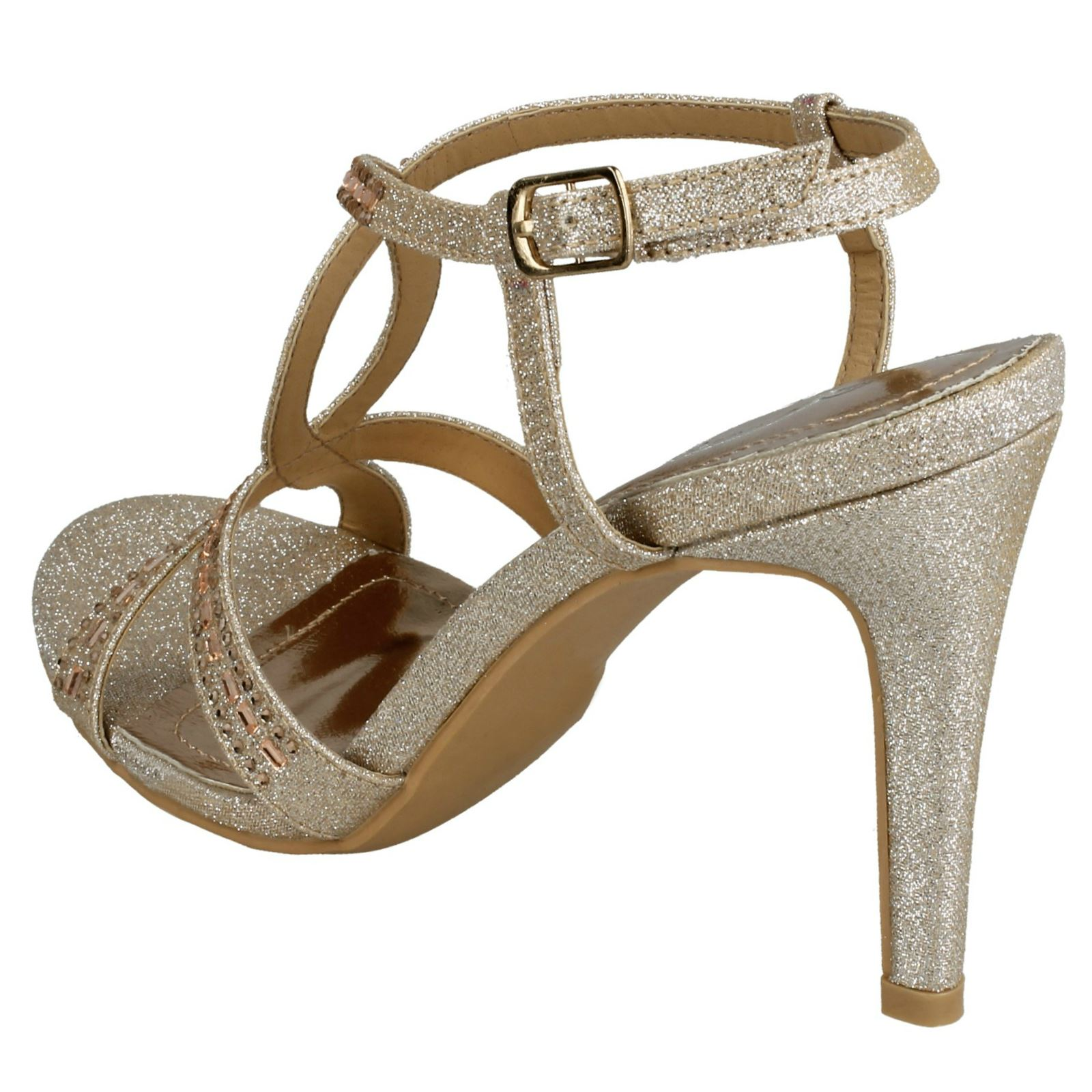 fe0f11042843 Anne-Michelle-Ladies-Jewelled-Strappy-Sandals thumbnail 5