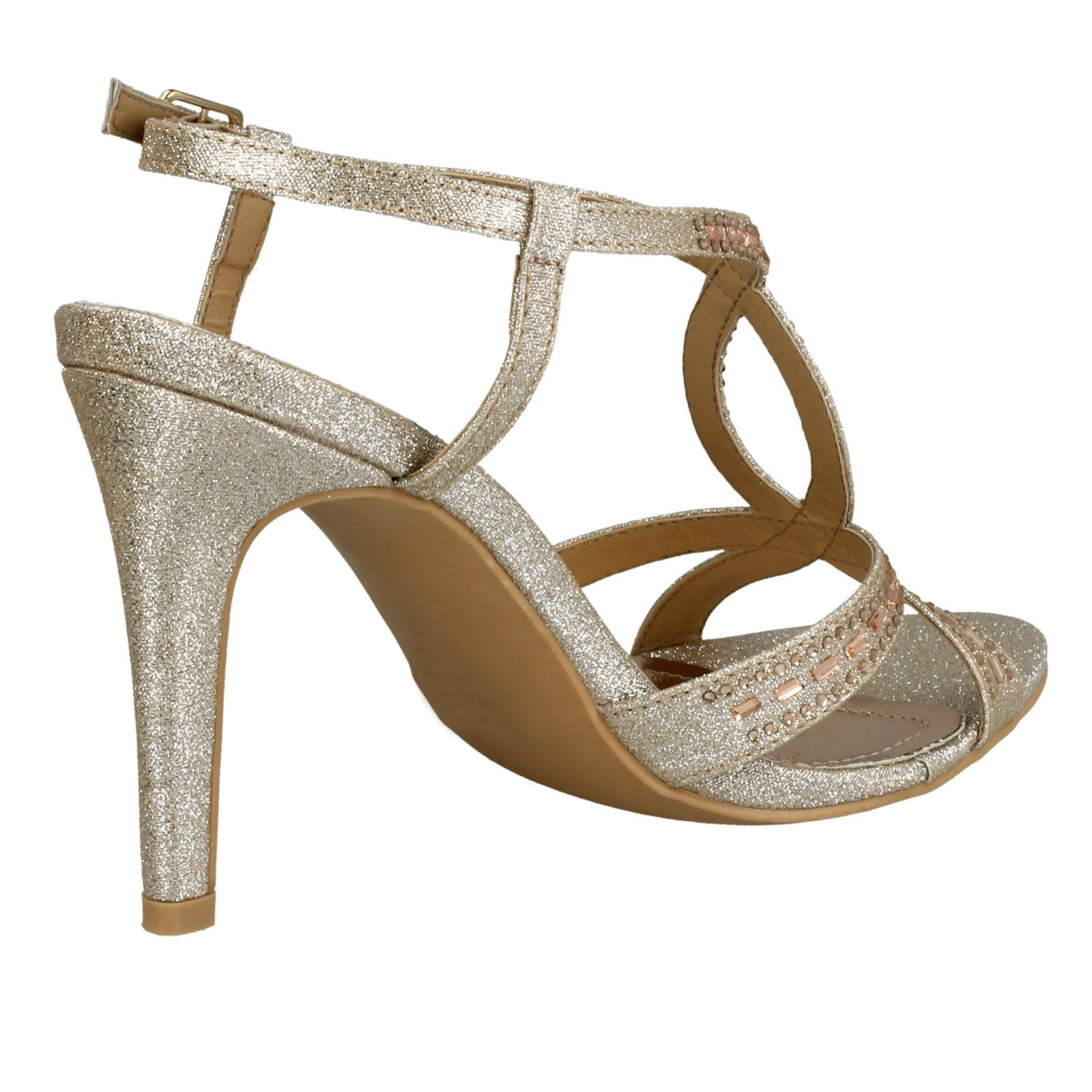 19a5eff18375 Anne-Michelle-Ladies-Jewelled-Strappy-Sandals thumbnail 9