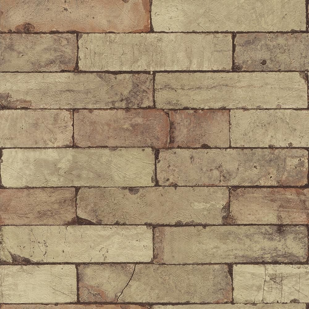 neue rasch fabric stein muster ziegel wand faux effekt texturiert wandtapete ebay. Black Bedroom Furniture Sets. Home Design Ideas