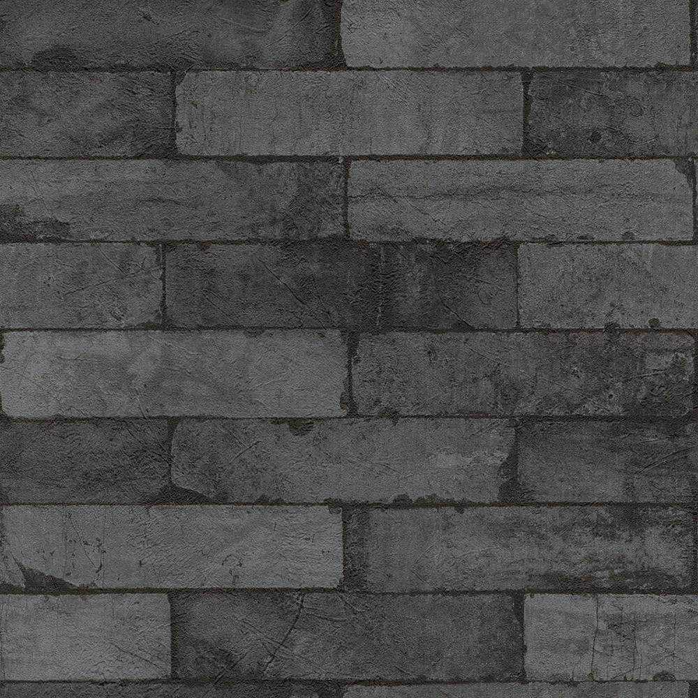 neue rasch fabric stein muster ziegel wand faux effekt. Black Bedroom Furniture Sets. Home Design Ideas