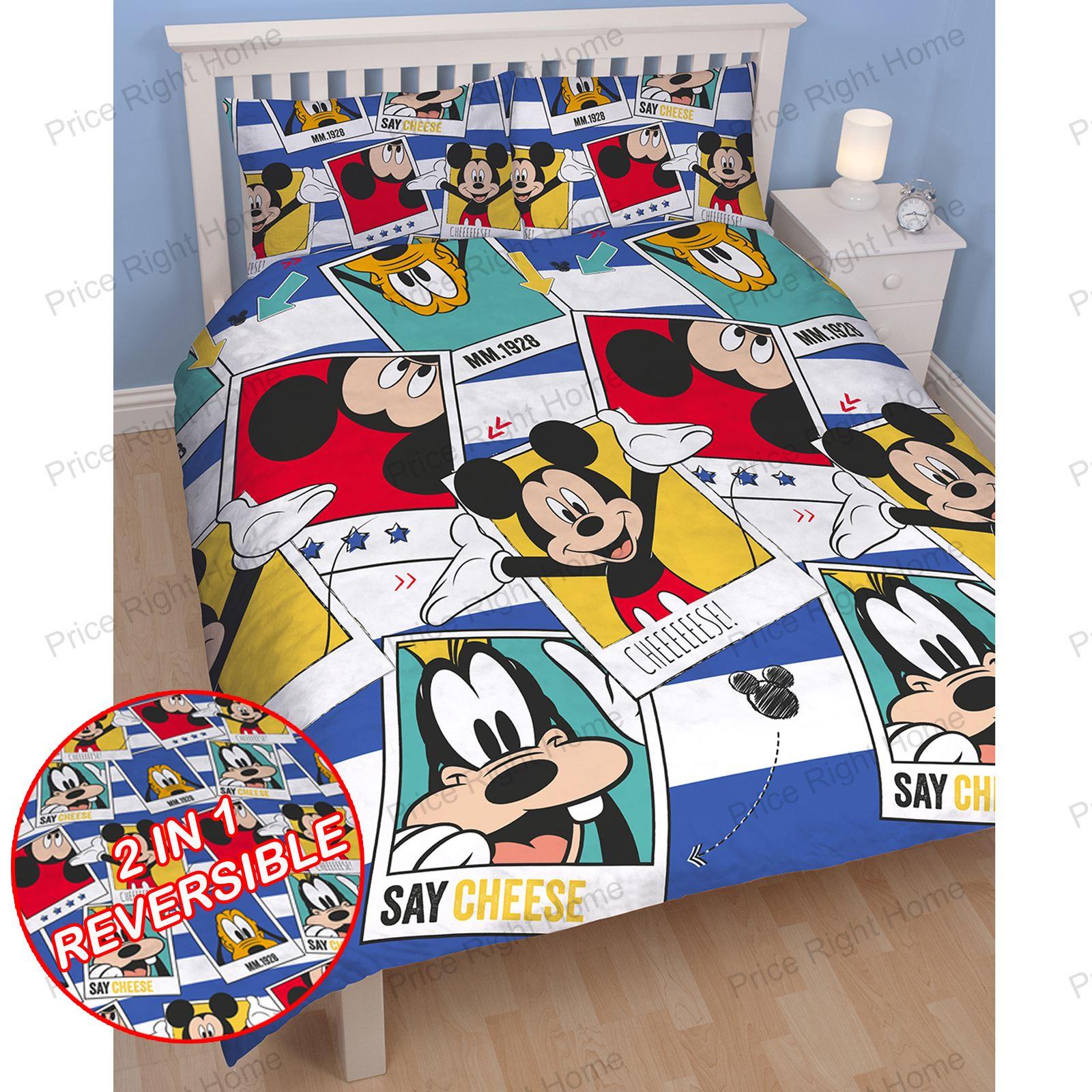 kinder diesney charakter doppelbett bettw sche sets marvel paw patrol emoji ebay. Black Bedroom Furniture Sets. Home Design Ideas