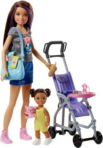 miniature 76 - #01 Barbie-Puppe-Mattel-Aussuchen: FCP73, GDJ37, BLL70, DWJ65, DWJ64