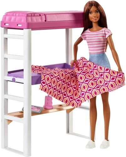 miniature 102 - #01 Barbie-Puppe-Mattel-Aussuchen: FCP73, GDJ37, BLL70, DWJ65, DWJ64