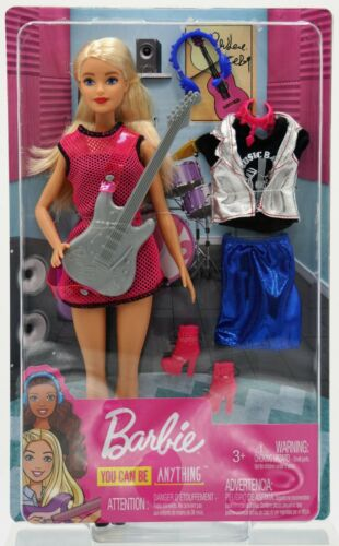 miniature 41 - #01 Barbie-Puppe-Mattel-Aussuchen: FCP73, GDJ37, BLL70, DWJ65, DWJ64