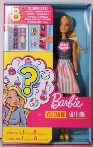 miniature 23 - #01 Barbie-Puppe-Mattel-Aussuchen: FCP73, GDJ37, BLL70, DWJ65, DWJ64