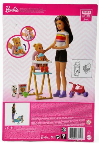 miniature 121 - #01 Barbie-Puppe-Mattel-Aussuchen: FCP73, GDJ37, BLL70, DWJ65, DWJ64