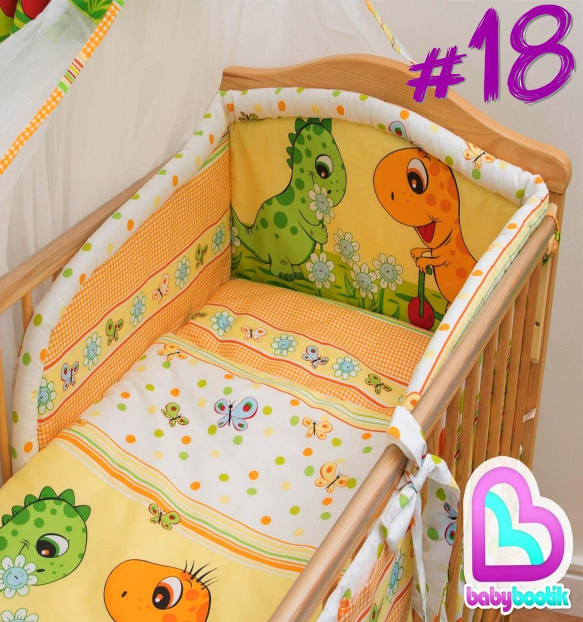 3 teile st ck baby gitterbett bettw sche set mit sicherheit nestchen 120 140 ebay. Black Bedroom Furniture Sets. Home Design Ideas