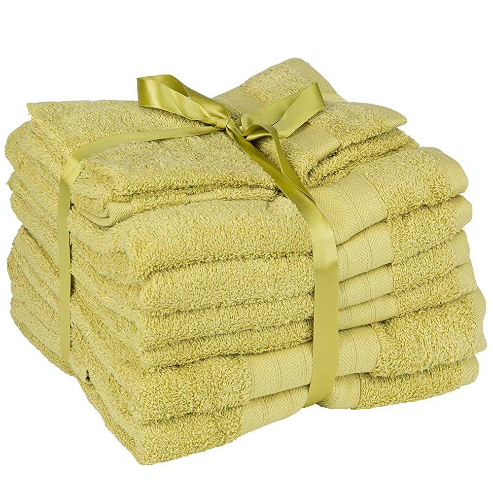 luxus weich 10 stück 100% Ägyptische baumwolle handtuch bündel set, Badezimmer ideen