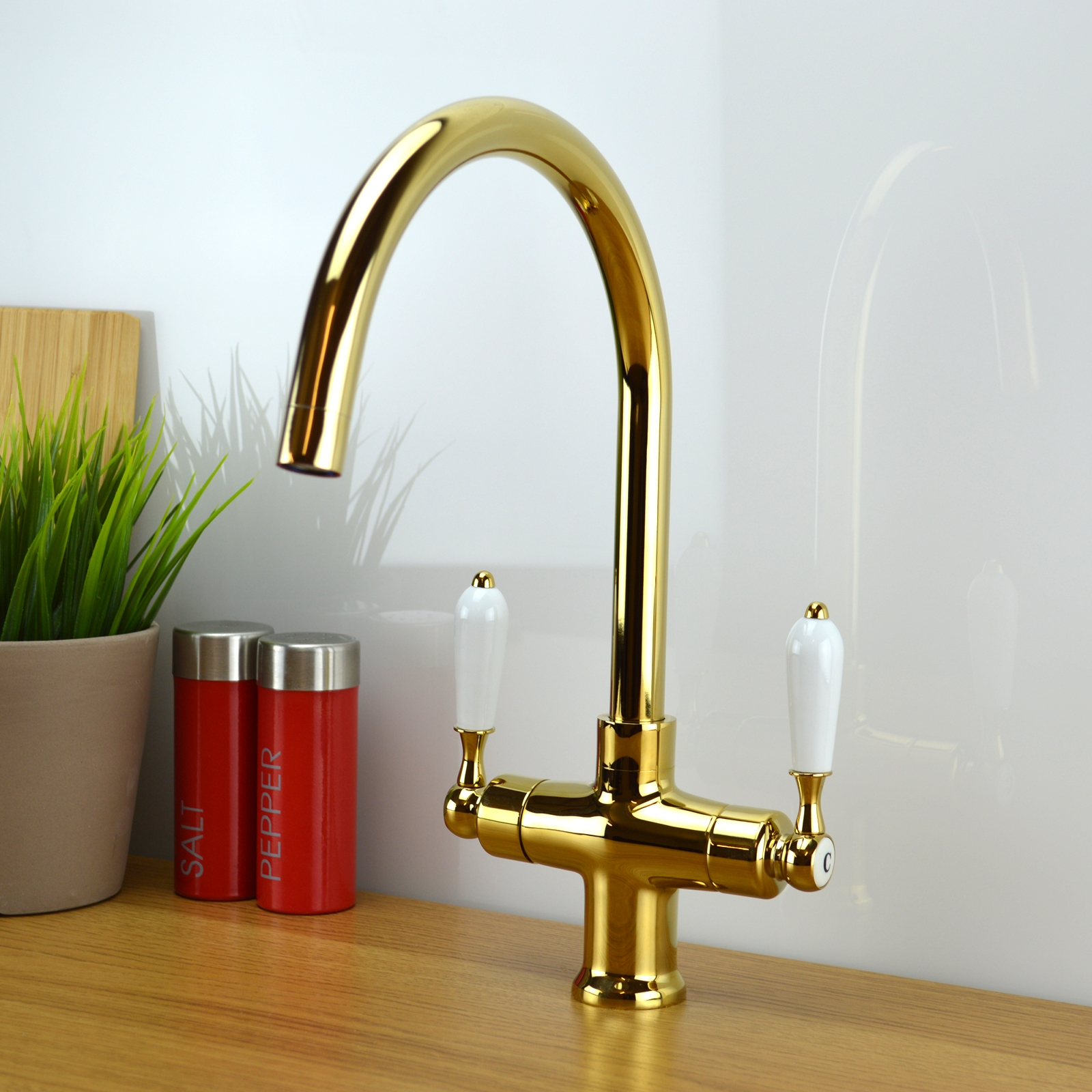 enki chrome kitchen sink mixer tap traditional black. Interior Design Ideas. Home Design Ideas