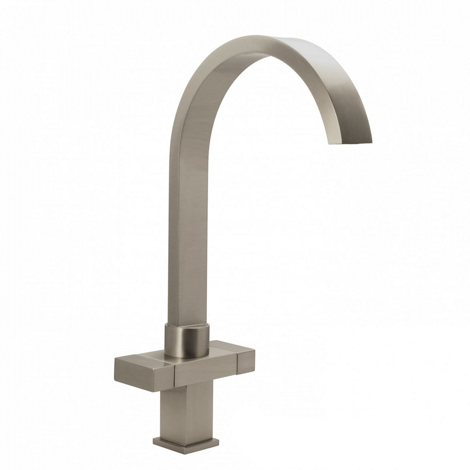 enki chrome kitchen sink mixer tap traditional black - Brushed Steel Kitchen Sinks